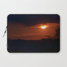Late Autumn Sunset Laptop Sleeve