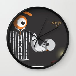 to see or not to see Wall Clock
