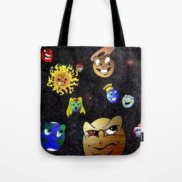 Battle of the Planets Tote Bag
