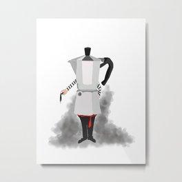 MOKA Metal Print