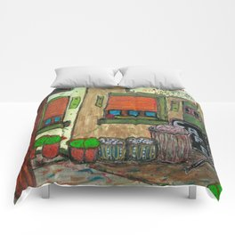 Grilled Cheese & Museum  Comforters