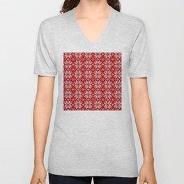 Christmas Pattern 3 Wool Sweater Unisex V-Neck