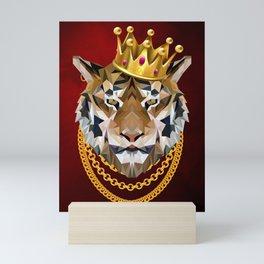 The King of Tigers Mini Art Print