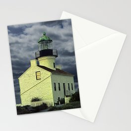 Cabrillo National Monument Lighthouse by San Diego in California Stationery Cards