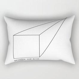 Reshape the Box Rectangular Pillow