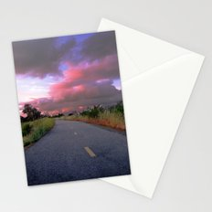 The Road to Nowhere Stationery Cards