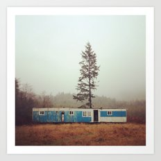 Forks, Washington Art Print