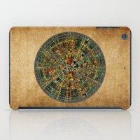 calendar iPad Cases featuring Ancient Calendar by Klara Acel