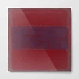1959 No. 301 Red and Blue Over Red by Mark Rothko HD Metal Print