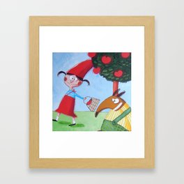 Cappuccetto Rosso -1 Framed Art Print