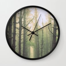 Obscurity Wall Clock