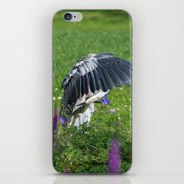 Welcome Heron iPhone Skin