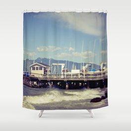 Jericho Beach Shower Curtain