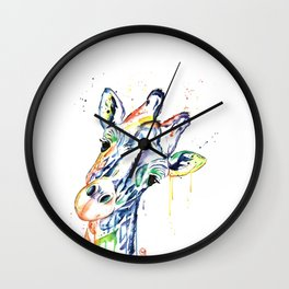Giraffe - Curious Wall Clock