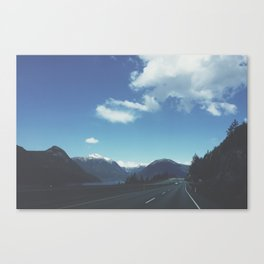 Vancouver Mountains Canvas Print