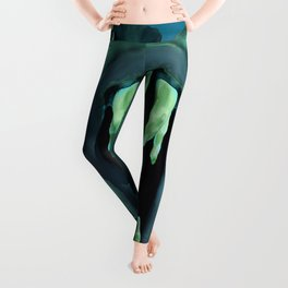 Piranhas Underwater Fish Leggings