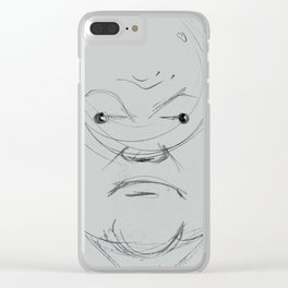 The Grump Clear iPhone Case