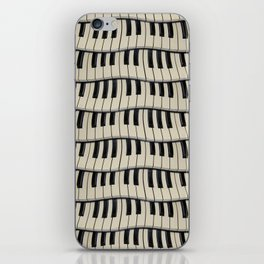 Rock And Roll Piano Keys iPhone Skin