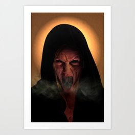 Unholy Mother Art Print