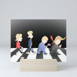 Shabby Road, feat. Marine Le Pen et les Bad Hairdos Mini Art Print
