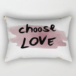 Choose Love Rectangular Pillow