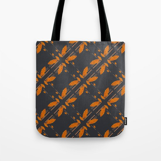 Orange chamomiles Tote Bag