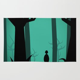 Lost In The Woods Rug
