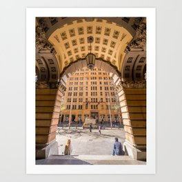 GPO Building, Martin Place, Sydney Art Print