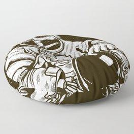 Astroskull Floor Pillow
