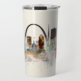 saint louis missouri skyline Travel Mug