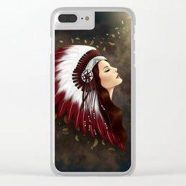 LANA'S DREAM Clear iPhone Case