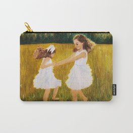 Ring Around the Rosies Carry-All Pouch
