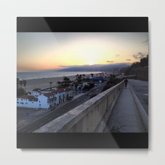 California Incline Metal Print