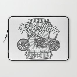Motorcicle Laptop Sleeve