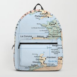 World Map Europe Backpack