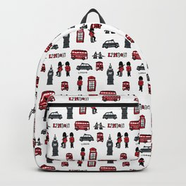 London icons illustration Backpack