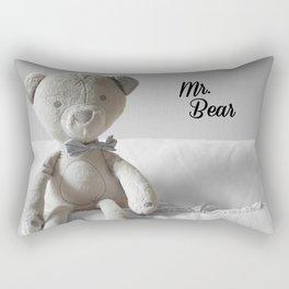Mr. Bear Rectangular Pillow