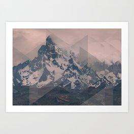 Perito Moreno COL Scattered Landscapes Art Print