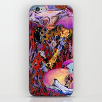 angel iPhone & iPod Skins featuring Angel by Dawn Patel Art