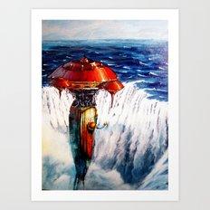 Escapism Art Print