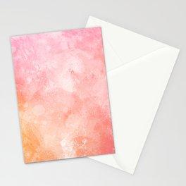 Spring evening pattern Stationery Cards