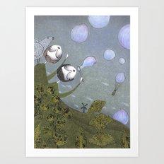 Earth and Air Art Print