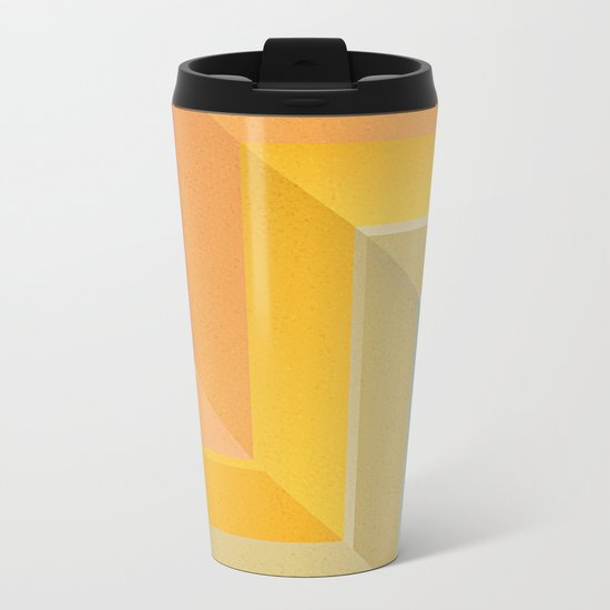 Back and Forth Metal Travel Mug