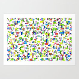 Rhythmic cloud 14 Art Print