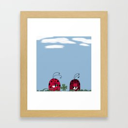 A Clover For My Lover Framed Art Print