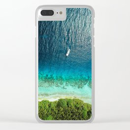 tropical vibes #society6 #decor #buyart Clear iPhone Case