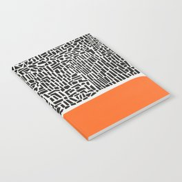 City Sunset Abstract Notebook