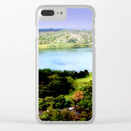Leg of Mutton Lake Clear iPhone Case