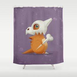 104 Cubone Shower Curtain