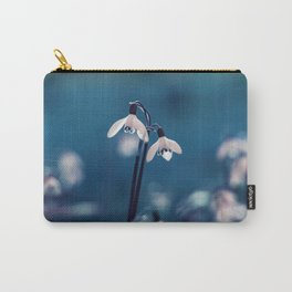 Primrose Flower Carry-All Pouch